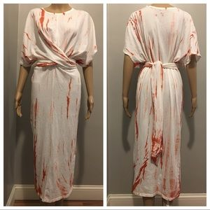 Zara tie dye dress